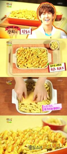 Kwang Hee's Creative Snack Becomes a Big Hit on Happy Together's Food Corner - Soompi