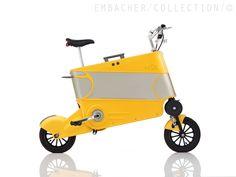 SKOOT Koffer-Rad - een merkwaardige vouwfiets - http://dailym.net/2014/12/skoot-koffer-rad/
