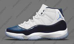 b78fcf080dc Air Jordan 11 Midnight Navy Black Friday Release Date - Sneaker Bar Detroit  Blue Jordans