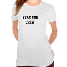 Year End Crew Funny Accounting Team Name T Shirt, Hoodie Sweatshirt