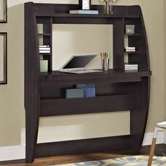found it at wayfair wall mounted floating desk