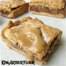 Old-Fashioned Apple Slab: King Arthur Flour