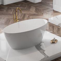 Wolnostojąca złota bateria Omnires Y. @lazienki_inspiracje #omnires #polskamarka #omniresinspiracje #bateria #inspiracjelazienkowe #modernbathroom #faucet #baterialazienkowa #architekturawnętrz #mojemieszkanie #instagood #interiordesign Clawfoot Bathtub, Bathroom, Faucet, Products, Washroom, Full Bath, Water Tap, Bath, Bathrooms