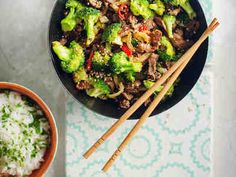 Food Challenge, Wok, Risotto, Delish, Food And Drink, Healthy Recipes, Healthy Food, Menu, Diet