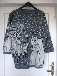 Pullover mit Löwenmotiv