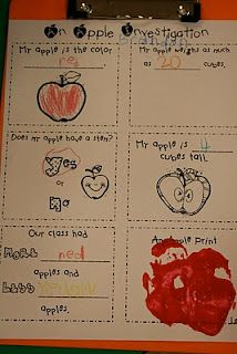 Mrs. Lee's Kindergarten: Apples, Apples, Apples