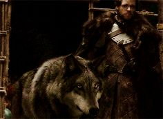 Robb + Grey Wind | Game of Thrones