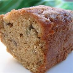 Streusel Rhubarb Bread - So good :) My son made it 6.9.14- this recipe is an excellent way to make use of my rhubarb.