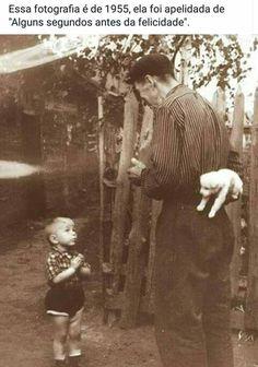 Alguns segundos antes da felicidade- 1955- aqui, a criança está para receber seu novo amiguinho
