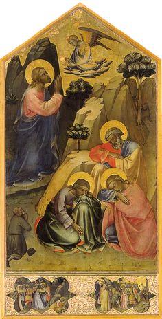 Lorenzo Monaco, Orazione nell'orto, 1395-1400 ca., Galleria dell'Accademia, Firenze