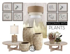 """""""Redecorate with Planters"""" by alyssahale on Polyvore featuring interior, interiors, interior design, home, home decor, interior decorating, Oliver Gal Artist Co., Cyan Design, plants and planters"""