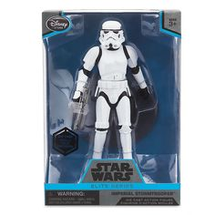 Star Wars Imperial Stormtrooper Elite Series Die Cast Action Figure  6 1/2 I