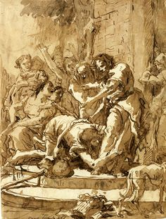 by Giovanni Domenico Tiepolo  Discover the coolest shows in New York at www.artexperience...
