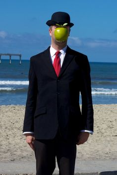 Son of Man by Rene Magritte Halloween Costume