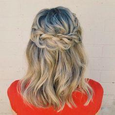 @annieforgetmeknots Cute Hairstyles, Braided Hairstyles, Hairstyle Ideas, Hair Ideas, Hair Inspo, Hair Inspiration, Love Your Hair, Good Hair Day, About Hair