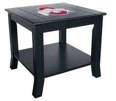 Ohio State Buckeyes Side Table