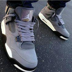 Air jordan 4 IV grey white black