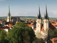 Mühlhausen, Stadtansicht