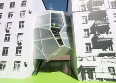 Entre medianeros, za bor Architects