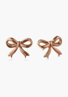 Bow Post Earrings