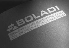 logotipo para bolado boletín latinoamericano de derecho informático hecho por la agencia de publicidad  marketing diseño gráfico y paginas web en veracruz, link diseño e imagen