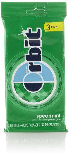 BESTSELLER! Orbit Sugar Free Gum, Spearmint (3 Pa... $2.24