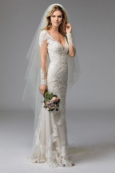 @watterswtoo Wtoo Style 17764 Claude Wedding Gown
