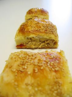 My Turkish Kitchen: FILLO BOREK WITH CHICKEN FILLING - TAVUKLU BÖREK