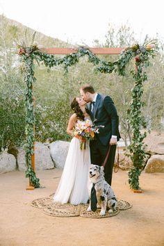 DIY Ace Hotel Palm Springs wedding: Mike + Nair