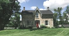 Stonewell Farms renovates their 1872 classic stone house! Farmhouse Renovation, Farmhouse Design, Stone Farms, Old Stone Houses, House Foundation, Farm Photography, House Built, Future House, House Styles