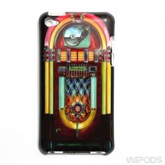 itouch 4 cases | Jukebox Design for iPod Touch 4 4th Generation Hard Case Cover ...