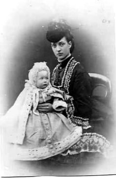 Alexandra and baby Louise