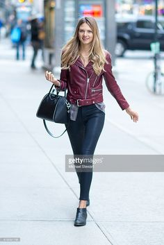 Model Brittni Tucker attends the 2016 Victoria's Secret Fashion Show call backs on October 25, 2016 in New York City.