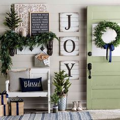 This Christmas, give your home all the holly-jolly feels with a few holiday-inspired updates.