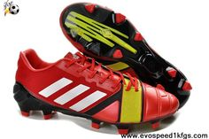 Buy Discount Adidas Nitro Charge Red White Green Football Shoes For SaleFootball Boots For Sale