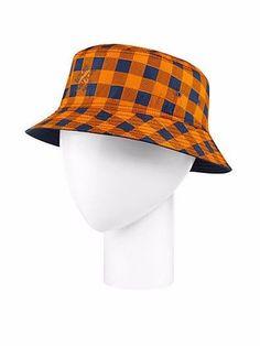 a0d0f731b25 Louis Vuitton Reversible Damier Bucket Hat - Orange Masai   Plaid   Blue   LouisVuitton  Bucket