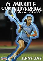 6-Minute Competitive Drills for Lacrosse - with Jenny Levy,  University of North Carolina Head Women's Lacrosse Coach;  2013 NCAA Championship coach; 2010 NCAA Runners-up;  five NCAA Final Four appearances;  2x ACC Coach of the Year;  6th winningest coach in NCAA D1 Women's lacrosse history