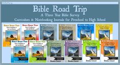 Everything You Ever Wanted to Know about Bible Road Trip What is Bible Road Trip? Bible Road Trip is a three-year Bible survey curriculum for preschool to high school. The curriculum is written for five different levels of study, to allow you to custom t…