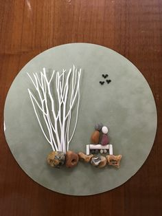 Creative Diy Ideas For Pebble Art Crafts! - Do It Yourself Samples Stone Crafts, Rock Crafts, Arts And Crafts, Art Crafts, Arte Coral, Coral Art, Sea Glass Crafts, Sea Glass Art, Natural Wood Crafts
