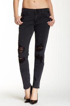 Joe's Jeans | Boyfriend Slim Distressed Jean | Nordstrom Rack Joes Jeans, Distressed Jeans, Boyfriend Jeans, Nordstrom Rack, Black Jeans, Skinny Jeans, Slim, Belt, Pants