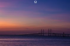 Penang 2nd Bridge Sunrise