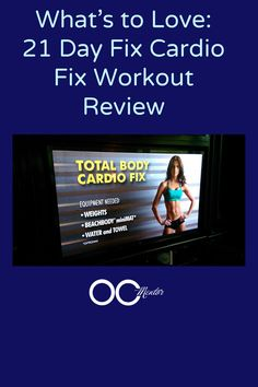 Today is day 1 of the 21 Day Fix Program for me.   I am an at-home workout junkie and bought the program to mix things up and because really -   almost anything is tolerable …