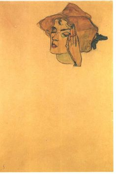gerti schiele by Egon Schiele