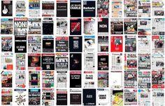 72 portadas de la prensa #JeSuisCharlie