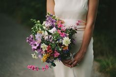 1960s vintage inspired wedding dress, Charlie Brear, Flowers in her hair, Lake District Wedding, English country garden wedding, Kitchener Photography