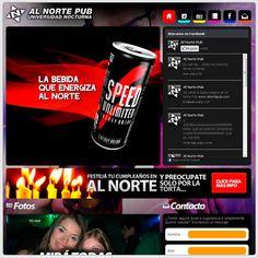 Julio de 2012 - Dims diseña y desarrolla la quinta versión del sitio web de Al Norte Pub - www.alnortepub.com