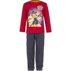 Osta tämä hauska Ryhmä Hau pyjamasetti pienelle Paw Patrol fanillesi! Settiin kuuluu pitkähihainen paita sekä yhteensopivat pyjamahousut. Nopea toimitus Suomeen!