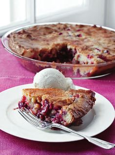 Easy Cranberry & Apple Cake from Barefoot Contessa How Easy Is That? by Ina Garten