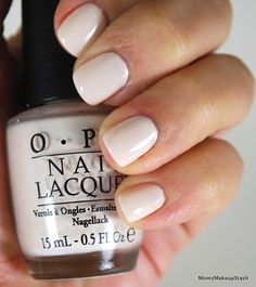 "@OPI Products, Inc. My Vampire is Buff - The perfect ""off-white"" cream polish"