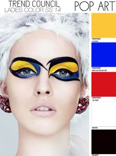 Spring/Summer 2014 Color Trend: Pop Art. Trend Council.